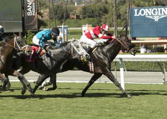 Sharp start propels Acceptance to victory in California Flag