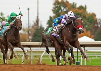 Nyquist Silences Doubters In Breeders Cup Juvenile