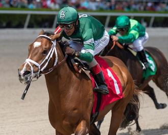 I'll Fight Dempsey wins a Feb. 29 maiden race at Gulfstream Park