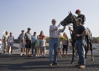 Louie Roussel Iii Sends Out 1 000th Career Winner At