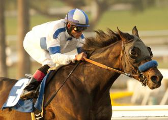Twirling Candy Topweighted At 122 For Santa Anita Handicap