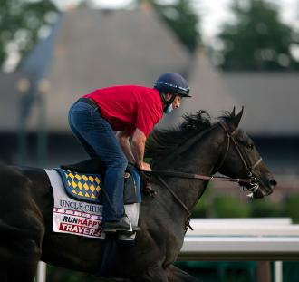 Shades of Arrogate as Uncle Chuck takes on Tiz the Law in Travers