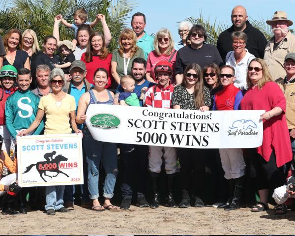 Scott Stevens 5000 wins