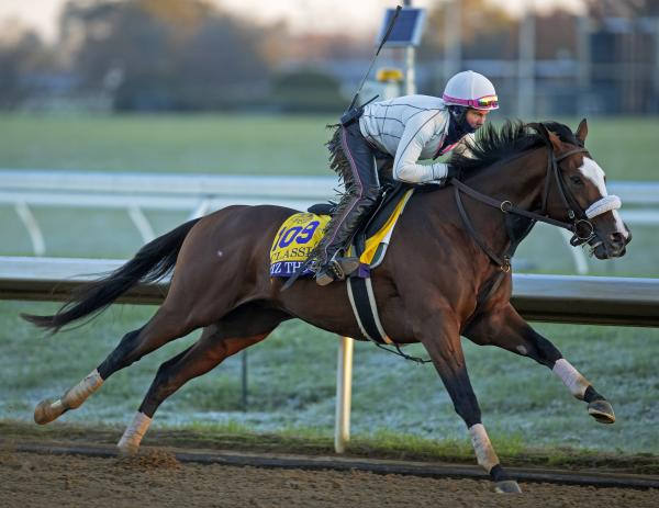 Tiz the Law sharp in final Breeders' Cup Classic workout