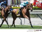 Lady Eli wins the Gamely