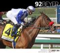 Venetian Harbor wins the Las Virgenes Stakes