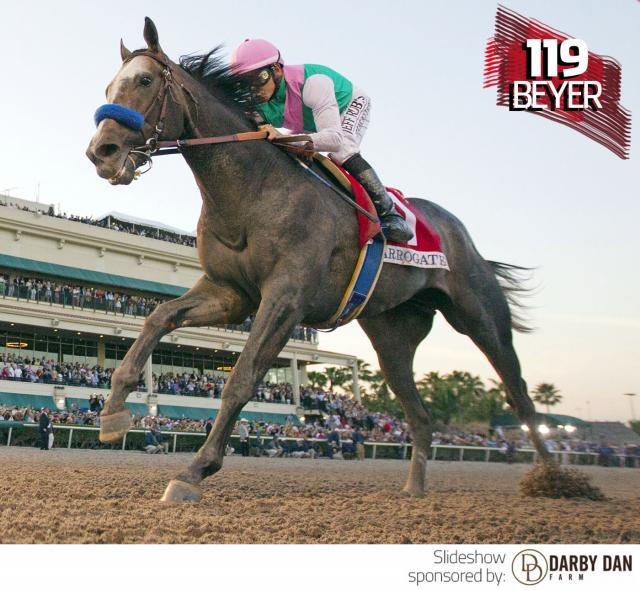 Arrogate wins the Pegasus World Cup