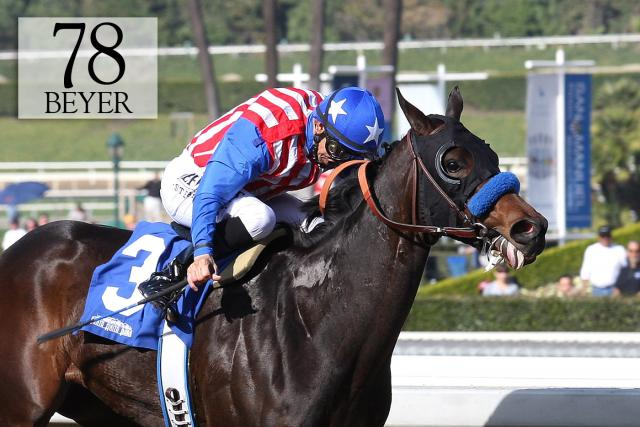 Awesome Baby wins the Santa Ynez