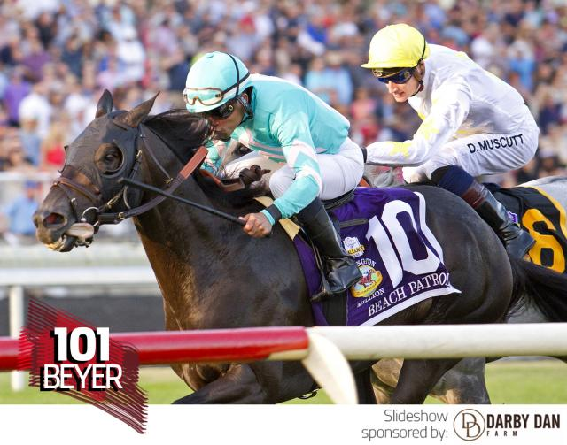 Beach Patrol wins the Arlington Million