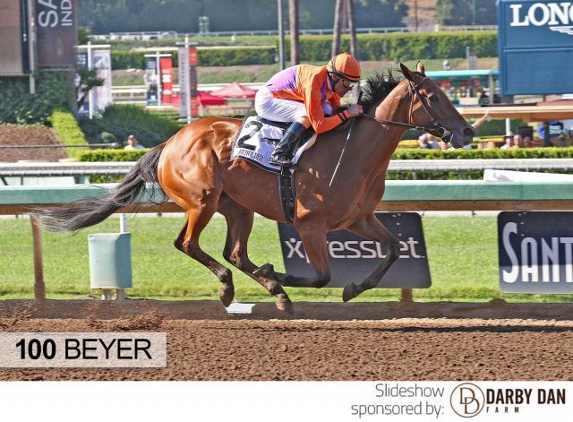 Beholder wins the Vanity Mile