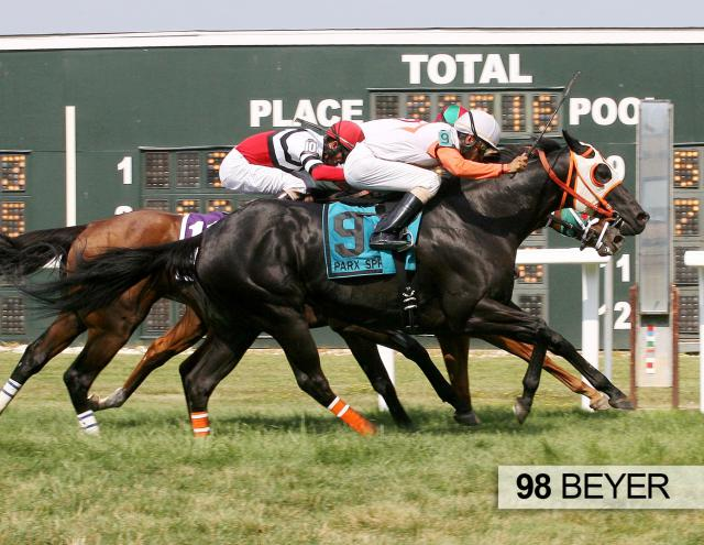 Ben's Cat wins the Parx Dash