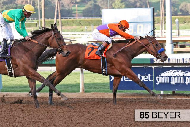 Callback wins the Las Virgenes