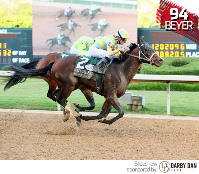 Classic Empire wins the Arkansas Derby