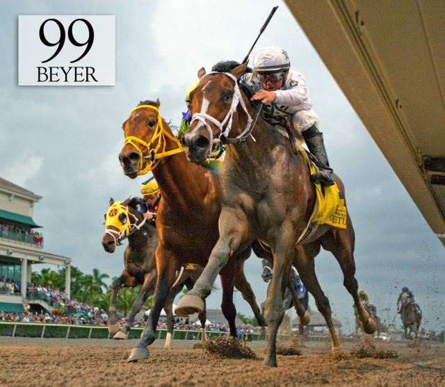 Constitution wins the Florida Derby