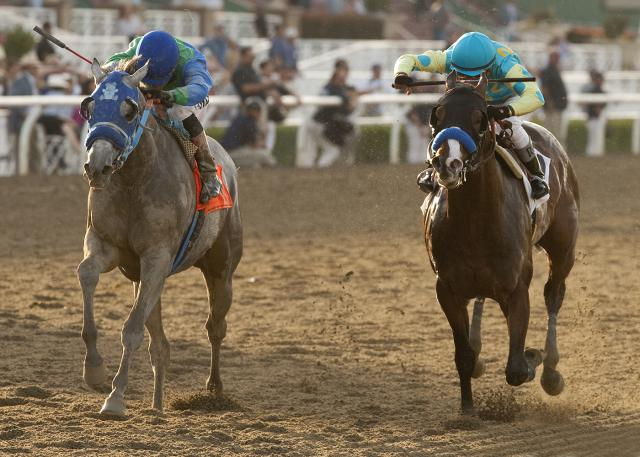 Creative Cause wins the San Felipe Stakes