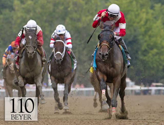Fort Larned wins the Whitney