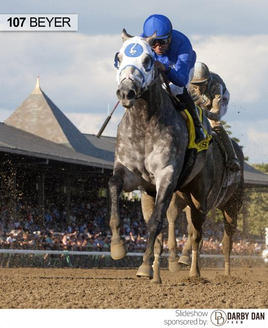 Frosted wins the Whitney