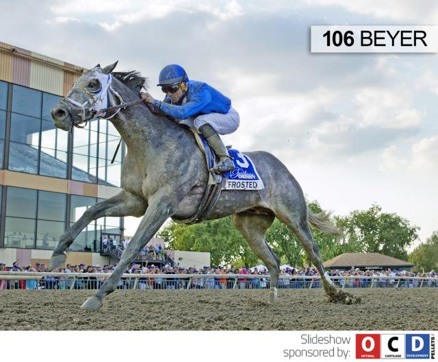 Frosted wins the Pennsylvania Derby