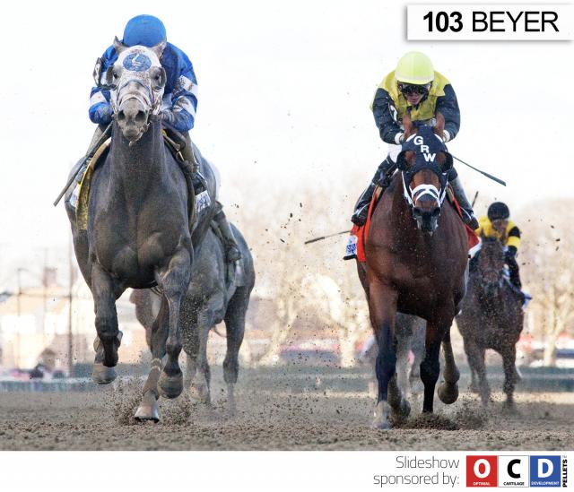 Frosted wins the Wood Memorial