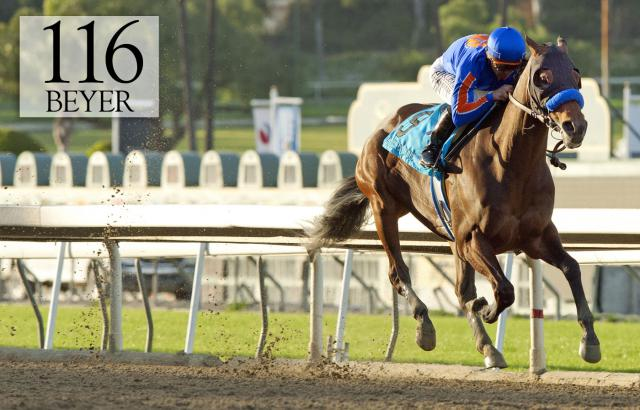 Game On Dude wins the Santa Anita Handicap