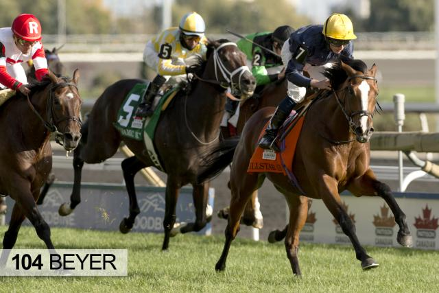 Hillstar wins the Canadian International