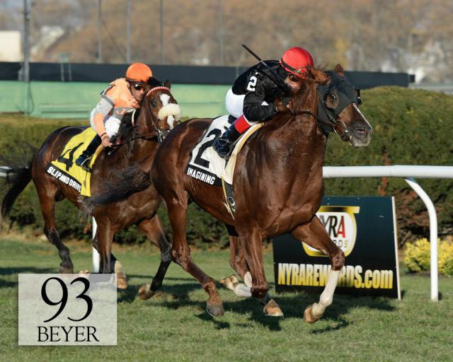 Imagining wins the Red Smith Handicap