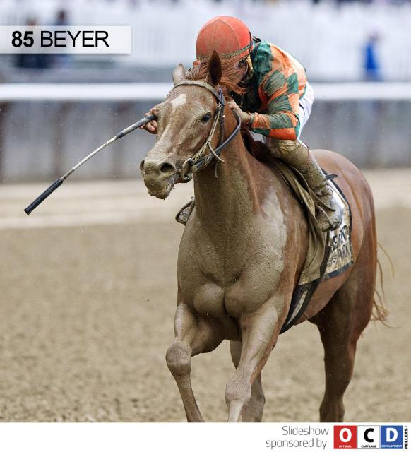 Include Betty wins the Mother Goose