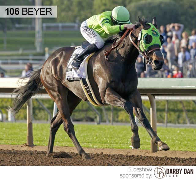 Melatonin wins the Santa Anita Handicap