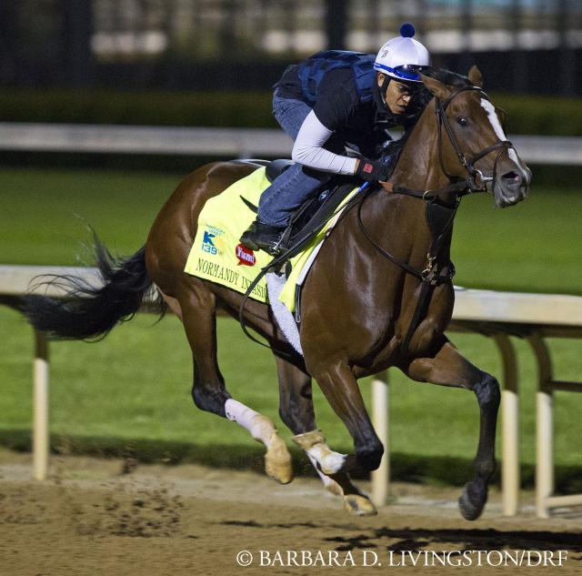 Normandy Invasion, workout April 27
