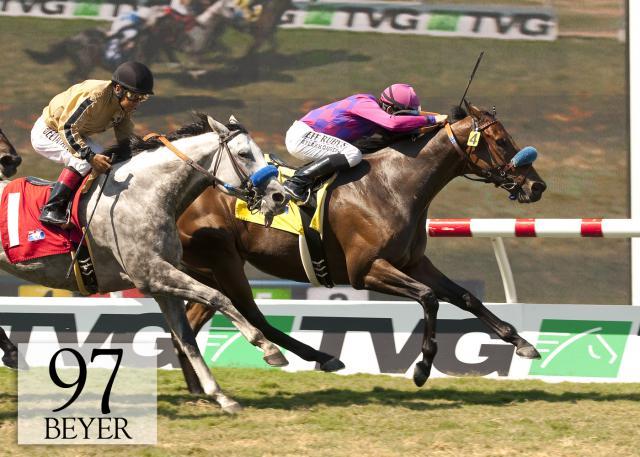 Obviously Del Mar Mile Beyer Weekend Stakes Winners