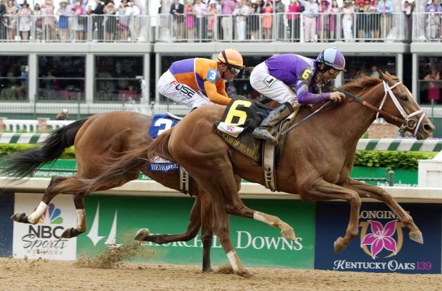 Princess of Sylmar wins the Kentucky Oaks