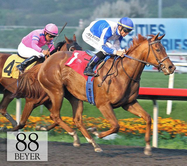 Pure Fun wins the Hollywood Starlet