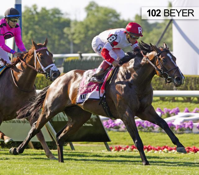 Real Solution, Manhattan Stakes, BEYER   Weekend Stakes