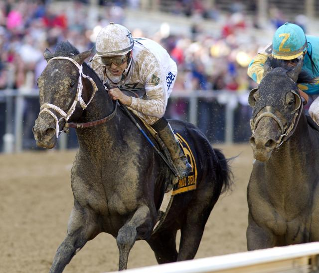 Revolutionary wins the Pimlico Special