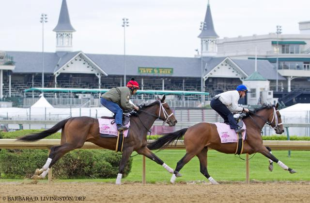 Room Service and Aurelia's Belle working on April 24