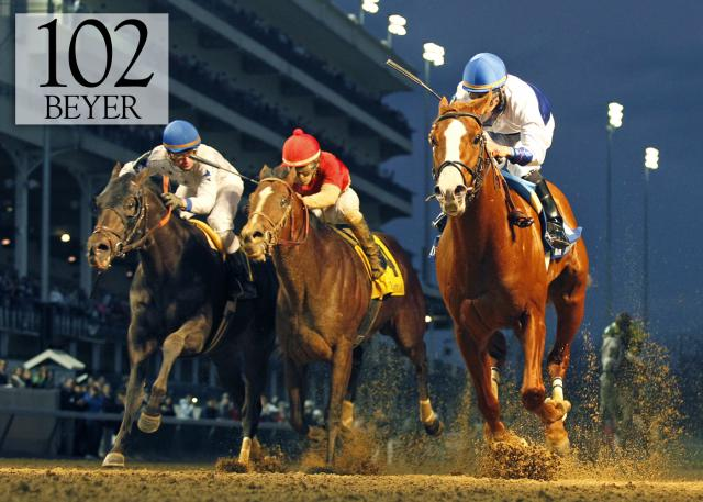 Shackleford wins the Clark Handicap