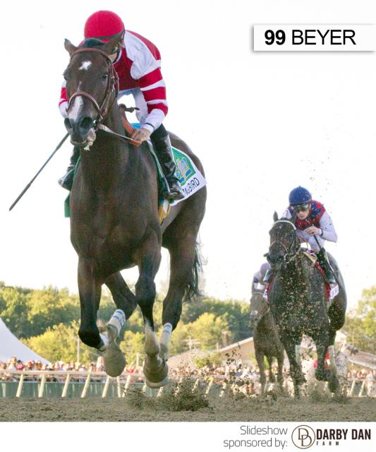 Songbird wins the Cotillion