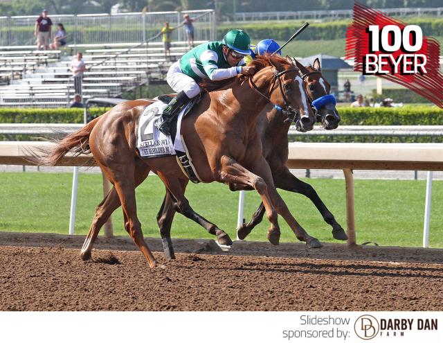 Stellar Wind wins the Beholder Mile