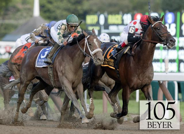 To Honor and Serve wins the Woodward