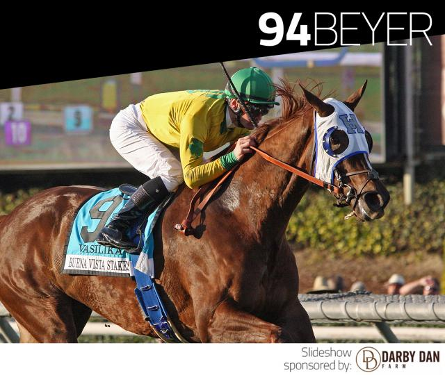 Vasilika wins the Buena Vista