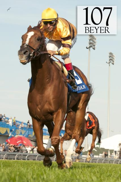 Wise Dan wins the Woodbine Mile