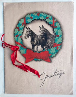 1940 Christmas card