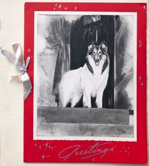 1941 Christmas card