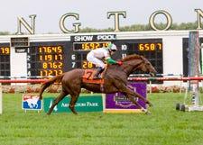 Cape Blanco wins Arlington Million