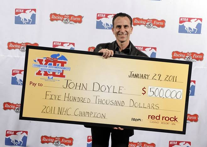 NHC 2011 winner John Doyle