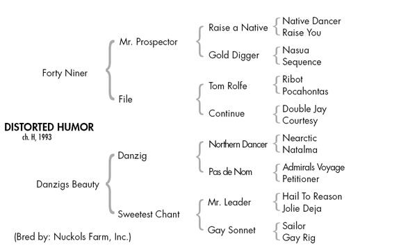 Distorted Humor pedigree