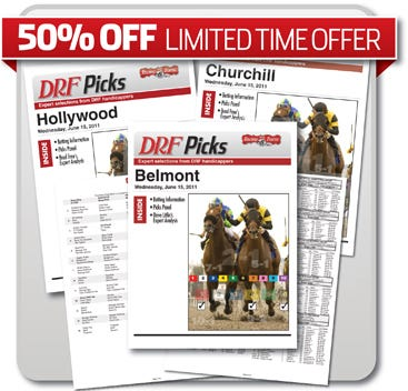 50% off DRF Picks