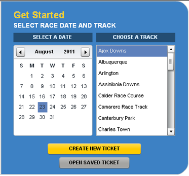 DRF TicketMaker User Guide | Daily Racing Form