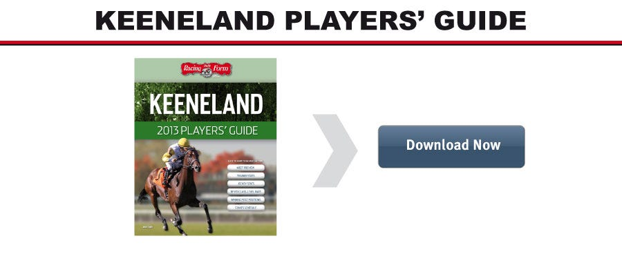 Keeneland Players Guide Download Daily Racing Form