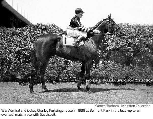 Through The Drf Archives War Admiral And The 1937